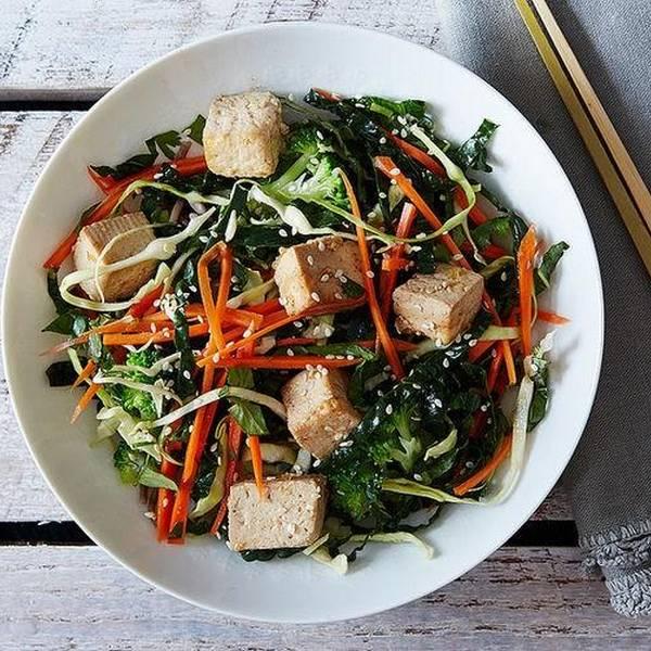 asiatique au tofu