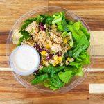 salade poulet quinoa santa fe