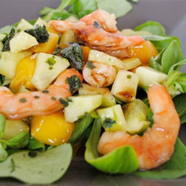 Salade de crevettes nordiques