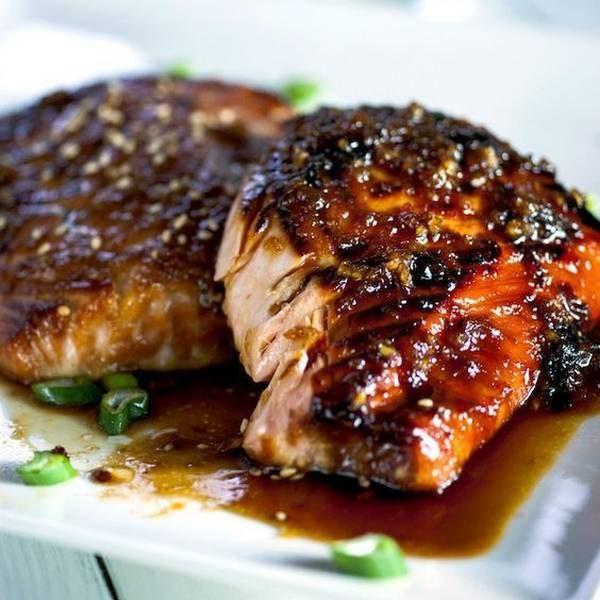 saumon miso