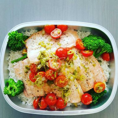 saumon sauce vierge mobilochef