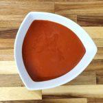 gaspacho tomate framboise