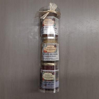 Assortiment - Gelée, Moutarde, Confit d'oignon