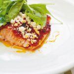 Pavé saumon tomates séchéesées
