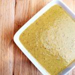 crème de légumes au basilic