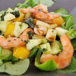 salade crevette