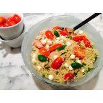 salade quinoa caprese