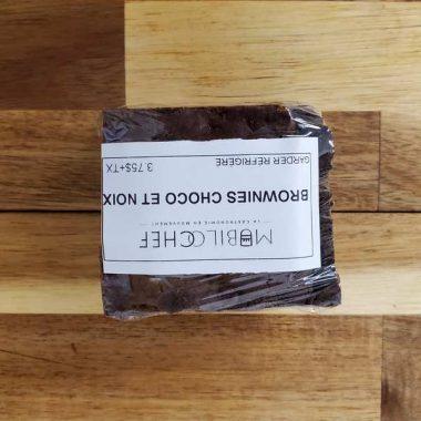 brownies choco et noix