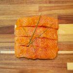 saumon pesto