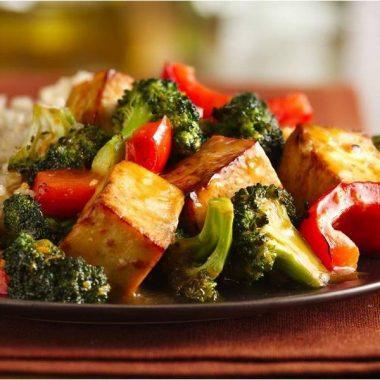 tofu asiatique